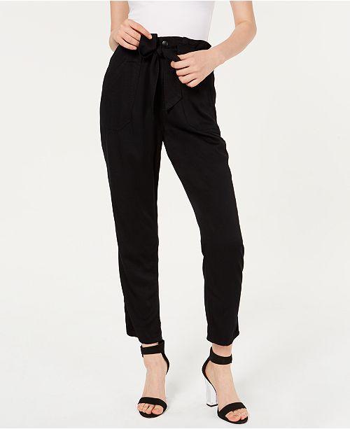 Celebrity Pink Junior's Belted Soft Pants