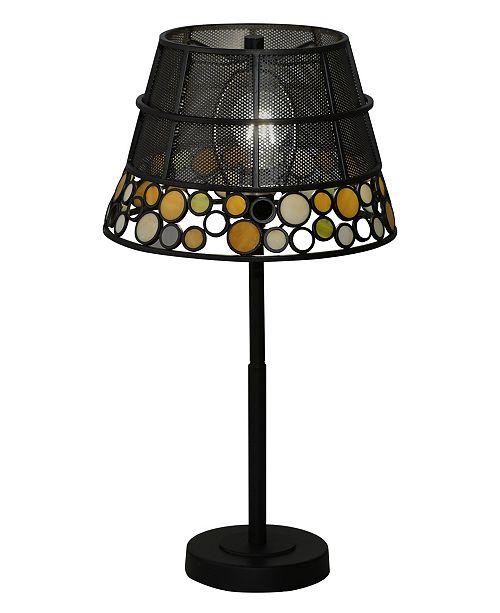 Dale Tiffany Pasqual Mesh Tiffany Table Lamp