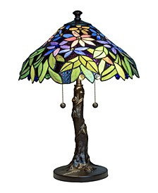 Floral Blossom Tiffany Table Lamp