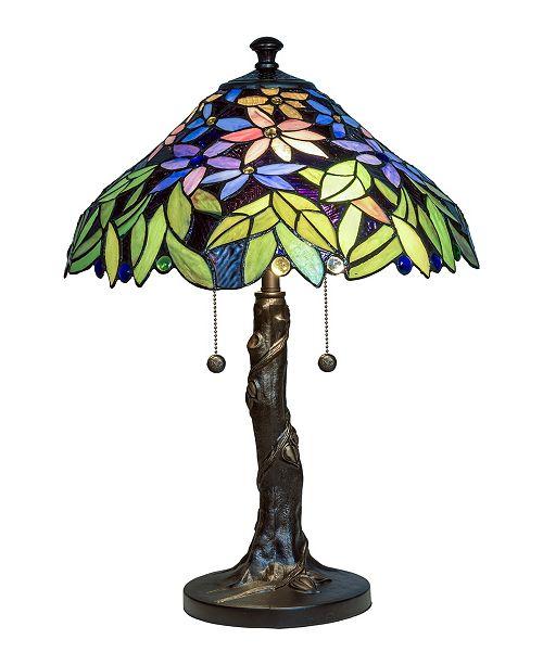 Dale Tiffany Floral Blossom Tiffany Table Lamp