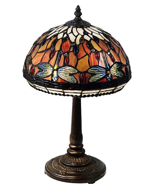 Tavis Dragonfly Tiffany Table Lamp