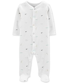 Baby Boys & Girls 1-Pc. Cotton Thermal Printed Pajama