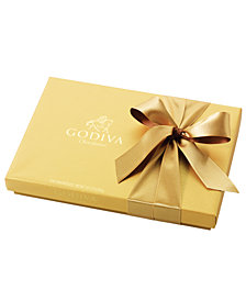 Godiva Chocolatier, 36-Pc. Gold Bow Ballotin Box of Chocolates