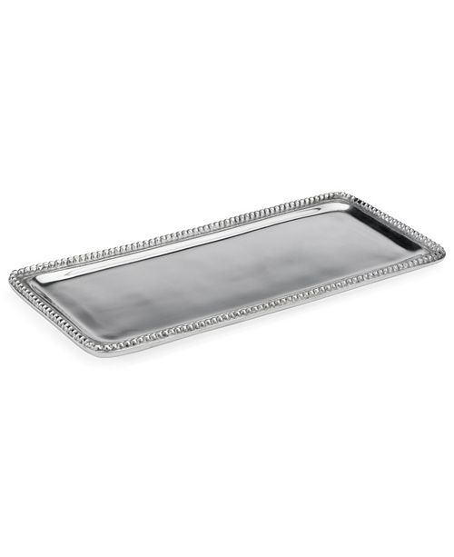 "St. Croix KINDWER 14"" Beaded Rectangle Tray"