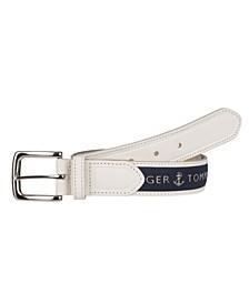 Ribbon Inlay Men's Belt