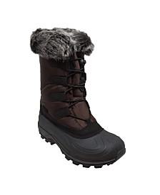Women's Nylon Winter Boots