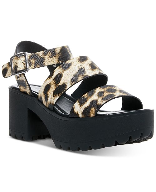 Madden Girl Carter Platform Lug Sandals