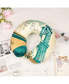 Bon Voyage World Memory Foam Travel Neck Pillow