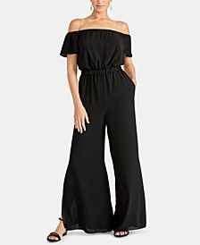 Novia Off-The-Shoulder Jumpsuit