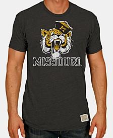 Men's Missouri Tigers Tri-Blend Vault Logo T-Shirt