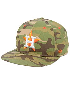 '47 Brand Houston Astros Blockade Strapback Cap