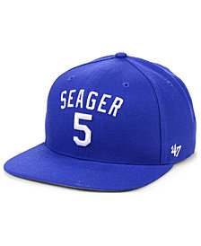 '47 Brand Corey Seager Los Angeles Dodgers Player Snapback Cap