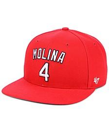 Yadier Molina St. Louis Cardinals Player Snapback Cap