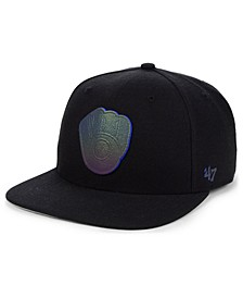 Milwaukee Brewers Iridescent Snapback Cap