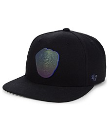'47 Brand Milwaukee Brewers Iridescent Snapback Cap