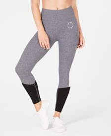 DKNY Sport Circle Logo Colorblocked Leggings