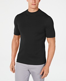 Alfani Men's Classic-Fit Mock Turtleneck Sweater, Created for Macy's