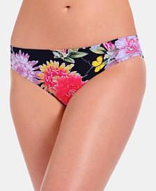 RACHEL Rachel Roy Printed Bikini Bottoms