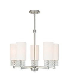 CLOSEOUT!   Carlisle 5-Light Chandelier
