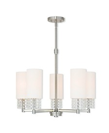 CLOSEOUT! Livex   Carlisle 5-Light Chandelier