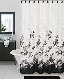 I have a window just like this in my master bath. These curtains look  perfect