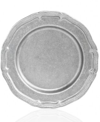 CLOSEOUT! Wilton Armetale Serveware Country French Matte Dinner Plate  sc 1 st  Macy\u0027s & CLOSEOUT! Wilton Armetale Serveware Country French Matte Dinner ...