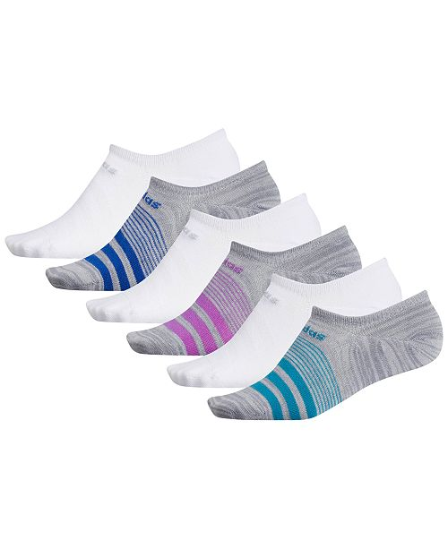 adidas Superlite 6-Pk. Super No-Show Women's Socks