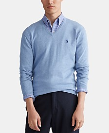 Polo Ralph Lauren Men's Pima V-Neck Sweater