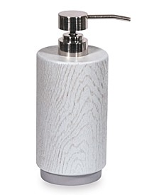 Grey Wood Lotion Pump
