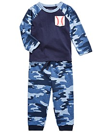 First Impressions Toddler Boys Baseball Pocket T-Shirt & Camo Jogger Pants, Created for Macy's