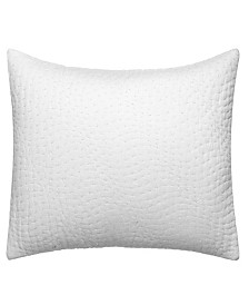 Vera Wang Marble Shibori Throw Pillow