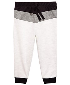 First Impressions Baby Boys Colorblocked Jogger Pants, Created for Macy's