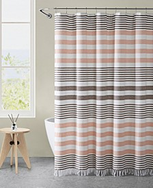 "Margot Stripe 72"" x 72"" Shower Curtain"