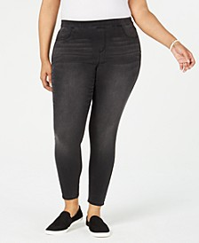 Plus Size Pull-On Jeggings, Created for Macy's