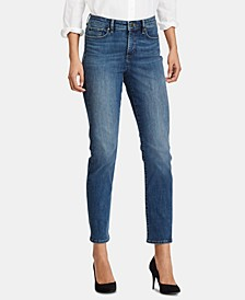 Lauren Ralph Lauren Ultimate Slimming Premier Curvy Fit Jeans