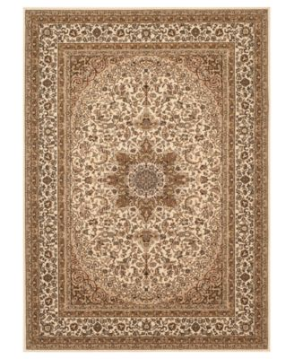 CLOSEOUT! KM Home Area Rug, Princeton Ardebil Cream 5'3