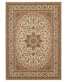 "CLOSEOUT! KM Home Area Rug, Princeton Ardebil Cream 7'10"" x 10'2"""