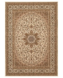 CLOSEOUT! KM Home Area Rug, Princeton Ardebil Cream 4' x 5'3""