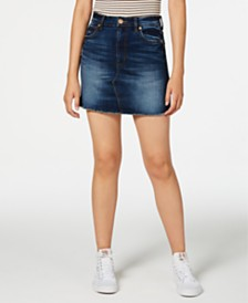 STS Blue Denim Mini Skirt
