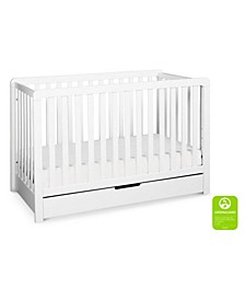 Colby 4-in-1 Convertible Crib with Trundle Drawer