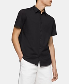Calvin Klein Men's Cotton Button Down Shirt