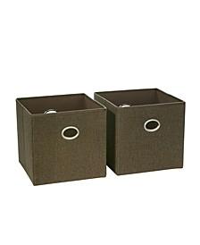 Riverridge 2 Pc. Folding Storage Bin Set