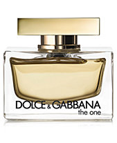 DOLCE GABBANA The One Fragrance Collection for Women 30c1f02f0b