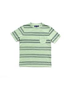 Toddler Boys Striped Tee