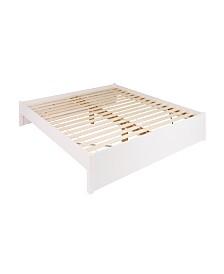 Prepac King Select 4-Post Platform Bed