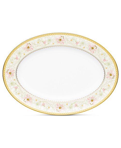 Noritake Dinnerware, Blooming Splendor Oval Platter