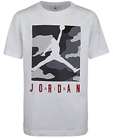 Jordan Little Boys Camo-Print Cotton T-Shirt