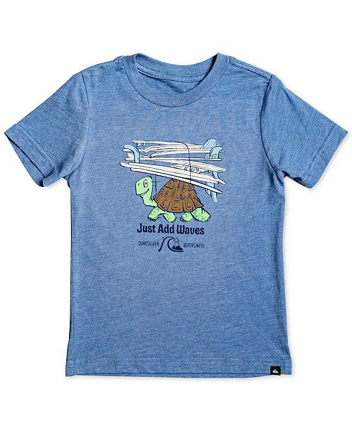 Quiksilver Toddler & Little Boys Turtle-Print T-Shirt
