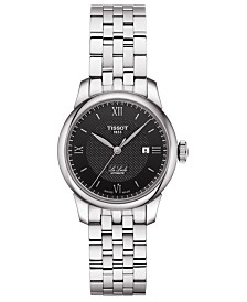 Tissot Women's Swiss Automatic Le Locle Stainless Steel Bracelet Watch 29mm