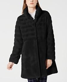 Jones New York Faux-Fur Coat